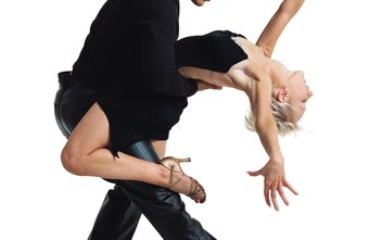 Certain aerobic and anaerobic exercises can help you build precision and skill as a salsa dancer.