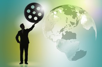An outsourcing company can provide services to other organizations all around the globe.