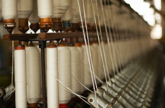 Textile factories manufacture goods such as clothing, bedding and fabric for furniture.