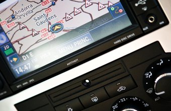 Some cartographic efforts find their way into car equipment.