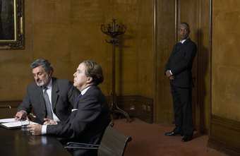 Bodyguards often learn on the job providing security in closed meeting settings.