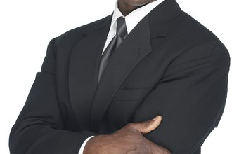 A smart business suit is the gold standard for a job interview.