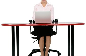 Time at your desk can be used to incorporate tummy firming tricks