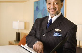 Hotel managers have many administrative and guest-related duties.