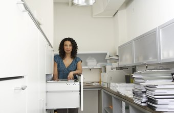 To keep your records organized, transfer old paperwork to inactive files.