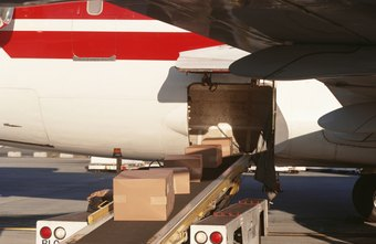 Air shipping arrives quickly but costs more than ground shipping.
