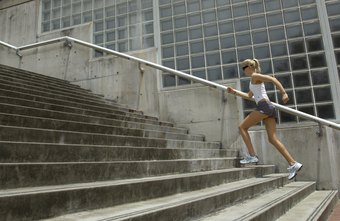 Stairs are a versatile piece of workout equipment.