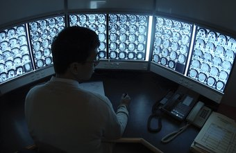 Radiologists are responsible for reading X-rays and computerized tomography scans.