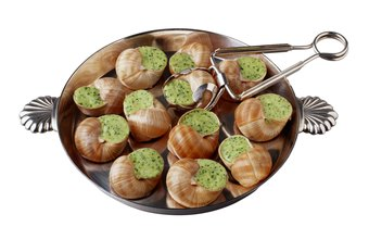 Escargot is made from a specific snail.