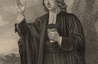 John Wesley, a founder of the Methodist Church.