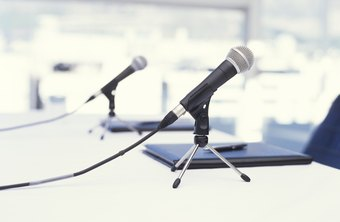A good quality microphone will help your recordings stand out.