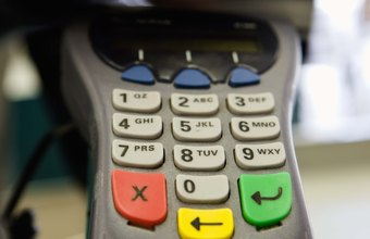 Businesses use credit card equipment to encourage more sales.