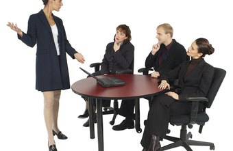 Use your words and body language to display professionalism.
