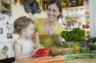 You can prevent health risks in your preschool child by establishing healthy nutritional habits.