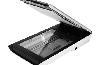 A flatbed scanner allows you to convert paper documents into electronic files..