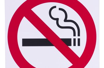 Smoking is strictly forbidden on many company grounds.