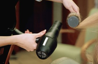Hairstylists use specialized tools such as blow dryers, scissors, brushes and curling irons.