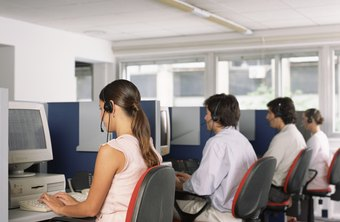 The call center HR manager ensures it is properly staffed.