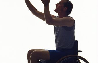 People in wheelchairs benefit from aerobic exercises.