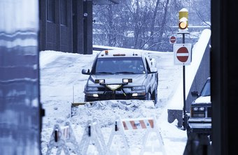 A snow plowing business can be a lucrative way to supplement income during the winter.