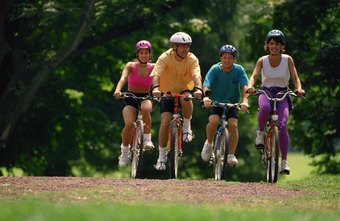 Cycling will help you burn calories and fat.