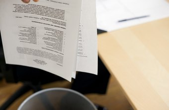 A poorly laid out resume could get your job application rejected.