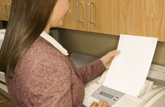 Fax verification reports communicate the result of a fax transmission.
