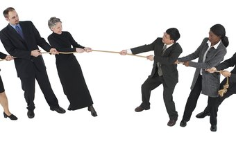 Conflict creates a real-life tug-of-war that stifles productivity.