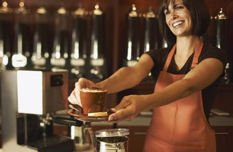 In addition to their hourly wages, baristas can earn tips from customers.