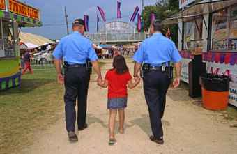 Kids can learn about the law by shadowing police officers.