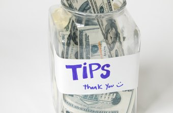 Tips are a way to customers or audience members to show appreciation.