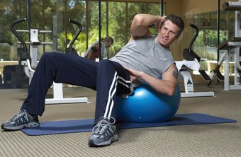 Stay balls can increase the effectiveness and difficulty of any core exercise.