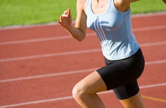 Sprinting is an anaerobic exercise that helps athletic conditioning.