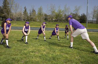 Softball stretching techniques help prepare you for games and practice.