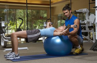 Perform chest flys on a stability ball for an extra challenge.