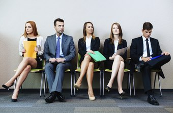 Ideal group interview candidates are friendly to fellow applicants.