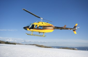 Helicopters provide reliable short-range air transportation.