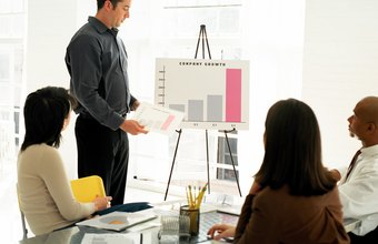 Raising money for a small business may require presentation and sales skills.