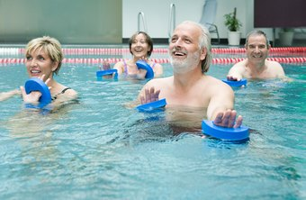 Exercising in water is a joint-friendly workout.