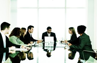 A board of directors helps define an organization's policies and procedures.