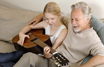 Learning a musical instrument provides opportunities for family activities.