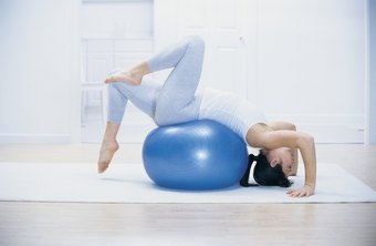 Stability balls are an inexpensive piece of workout equipment that can work out your whole body.