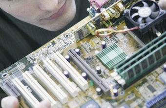 This motherboard features five PCI slots, whereas newer boards may feature a mix of PCI and PCIe slots.