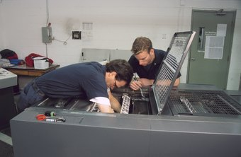 Machine repairing requires communication, analytical and troubleshooting skills.