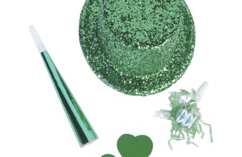Pull out the green party favors for your office St. Patrick's Day celebration.