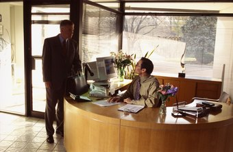 A receptionist can make or break your customers' front-office experience.