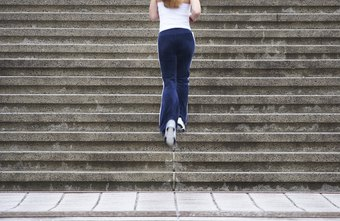 Stair climbing is an effective exercise for weight loss.
