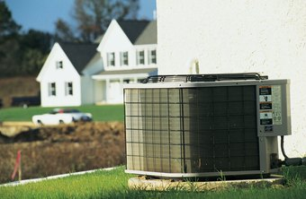 The fins of your your air conditioner hide the coils fed by the compressor.