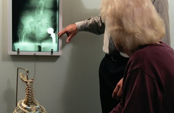 A radiology therapist takes X-rays to pinpoint the treatment area.