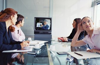 Virtual meetings can connect people from around the globe.